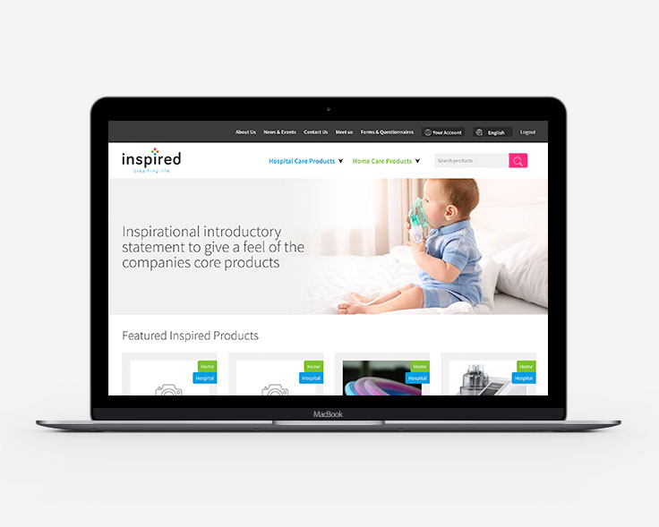 Inspired Medical Web Site Launch